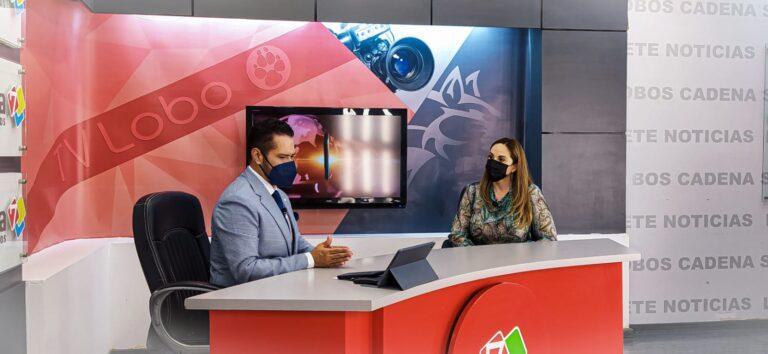 Entrevista en TV Lobo con Dionel Sena.