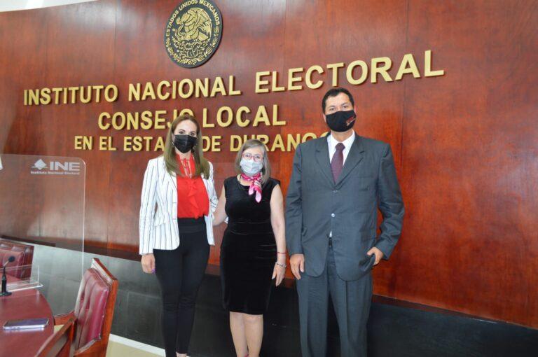 Sesión de Instalación del Consejo Electoral de la Junta Local del INE Durango